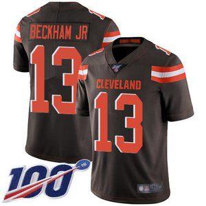 Browns Odell Beckham Jr 100th Season Jersey 2